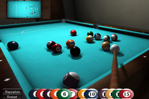Play 3D Ball Pool Billard