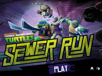 Play TMNT Sewer Run
