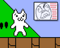 Play Cat Mario Adventure