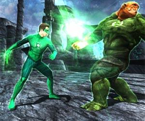 Play Green Lantern Combat
