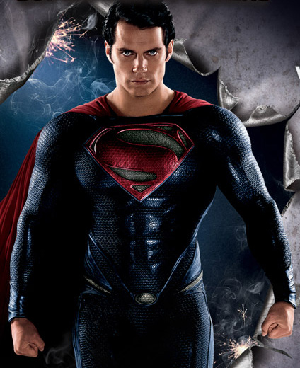 Superman Man of Steel 3D