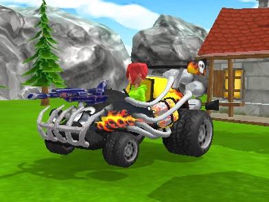 Play Motor Toons Race