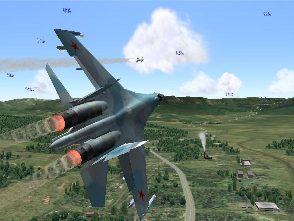 Play 3D Air Combat