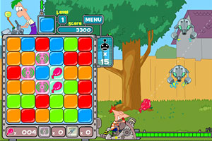 Play Phineas and Ferb Robot At…