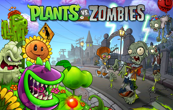play Plants vs Zombies HD