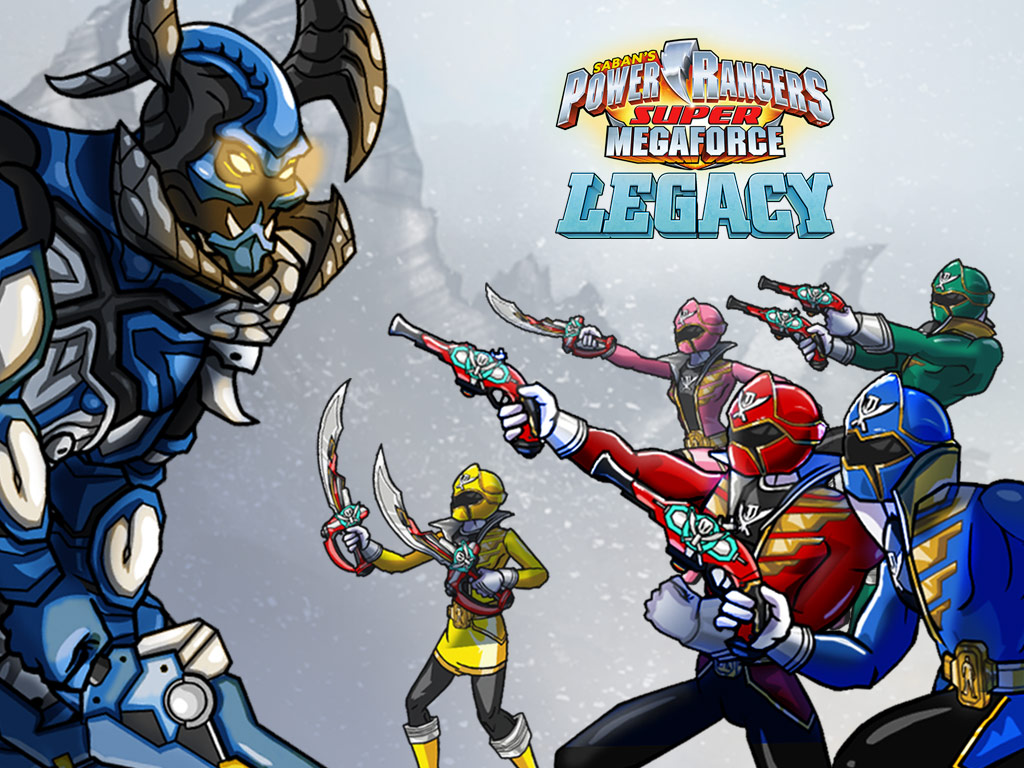 Play Power Rangers Megaforce Legacy