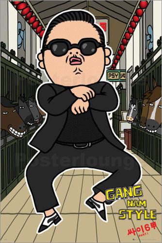 Gangnam Style Gentleman
